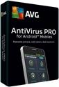 Obrázek AVG Antivirus PRO pro mobily, licence pro nového uživatele, počet licencí 1, platnost 1 rok