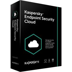 Obrázek Kaspersky Endpoint Security Cloud; obnovení licence; počet licencí 15; platnost 1 rok