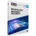 Obrázek Bitdefender Internet Security 2020, licence pro nového uživatele, platnost 1 rok, počet licencí 3