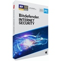 Obrázek Bitdefender Internet Security 2020, licence pro nového uživatele, platnost 3 roky, počet licencí 1