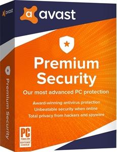 Obrázek Avast Premium Security 2020, obnovení licence, platnost 3 roky, počet licencí 1