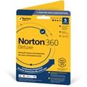 Obrázek Norton 360 Deluxe; licence pro nového uživatele; počet zařízení 5; platnost 1 rok